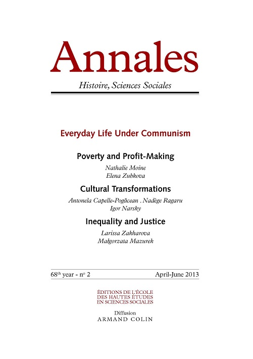 <i>Annales. Historie Sciences Sociales</i> now available in English as a package with the French edition.