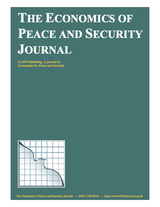 The Economics of Peace and Security Journal (EPSJ)