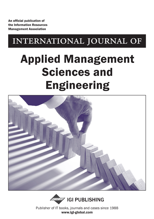 International Journal of Applied Management Sciences and Engineering