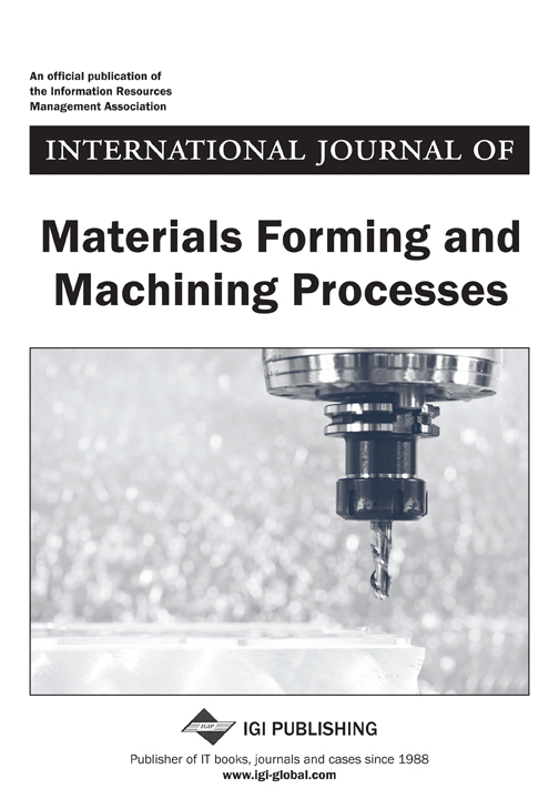 International Journal of Materials Forming and Machining Processes