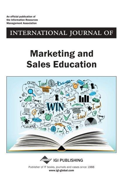 <i>International Journal of Marketing and Sales Education 2018 Inaugural Journal</i>