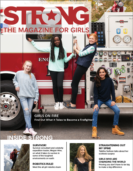 STRONG. The Magazine for Girls