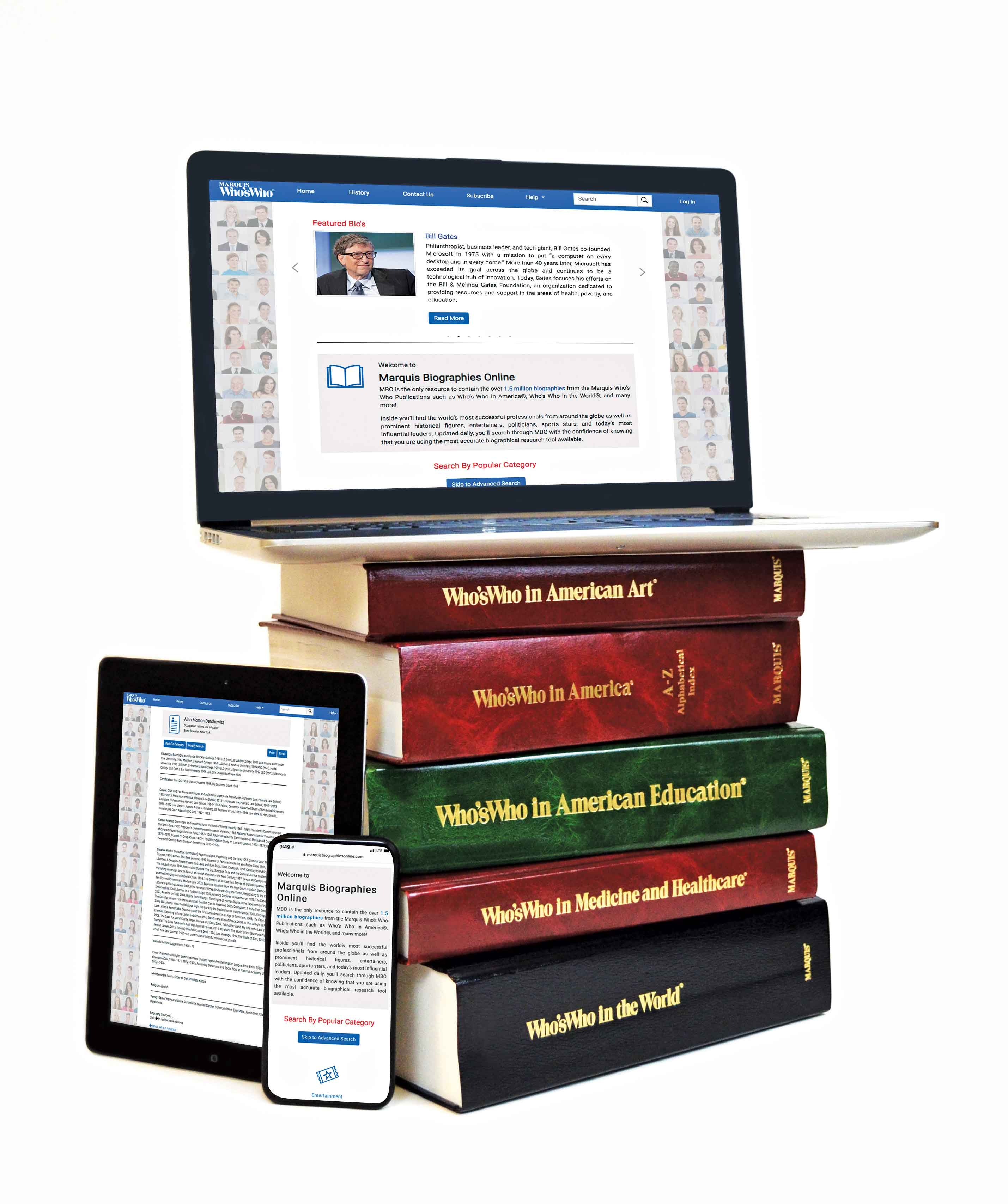 Marquis Biographies Online