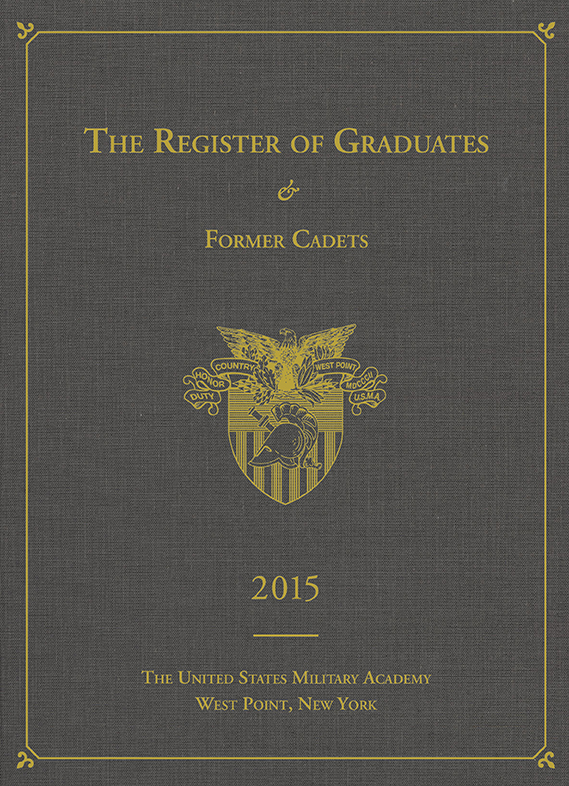 2015 Register of Graduates & Former Cadets, United States Military Academy
