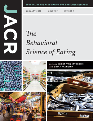 Journal of the Association for Consumer Research