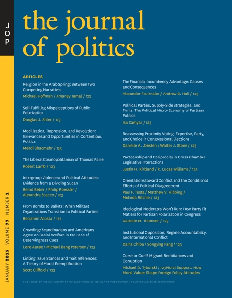 The Journal of Politics