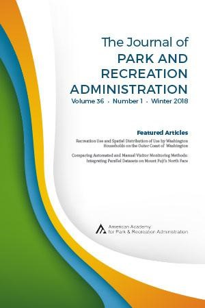 Therapeutic Recreation Journal, The Journal of Park and Recreation Administration